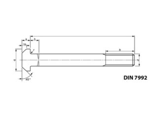 Kotwy fundamentowe DIN 7992