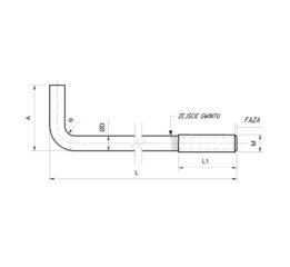 Złącza śrubowe odgięte typ L czarne: ZSLC